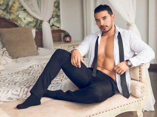 AaronBrown shows nude